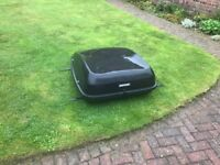 Halfords Roof Box and Thule Roofbars