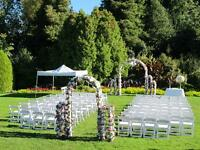 Arch Rental Service of wedding, ceremony, banquet, special event