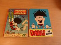 2 x old Beano Dennis the Menace Annuals