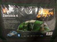 Higear zenobia 6 person tent and porch