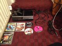 PS3 console 80gb with games and controller