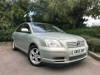 2005 (55) Toyota Avensis 2.0 D-4D T3-X LOW MILEAGE FULL TOYOTA SERVICE HISTORY EXCELLENT CONDITION