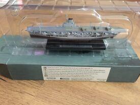 DeAgostini Atlas Editions Legendary Warships - HMS Ark Royal 1/1250 Scale VGC