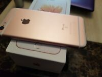 IPhone 6s rose gold 16gb in excellent condition open