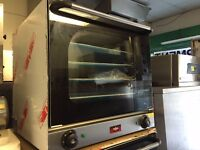 COMMERCIAL CATERING NEW CONVECTION TWIN FAN OVEN CAFE KEBAB CHICKEN RESTAURANT TAKE AWAY KITCHEN