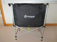 Outwell folding kitchen table/ unit