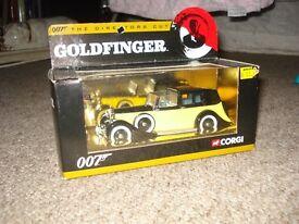 corgi goldfinger model rolls royce