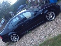 VW Bora TDI PD130 Sport Black 2003 VGC STARTS SPARES OR REPAIRS FAULTY GEARBOX GORGEOUS BARGAIN