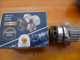 meyle heavy duty water pump for vag 1.9 -2.0 ltr diesels