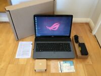 ACER LAPTOP / GAMING / ULTRA BOOK / CORE I7 @ 2.7GHZ / 8GB RAM/ 1GB Graphics Card / 17.3 SCREEN