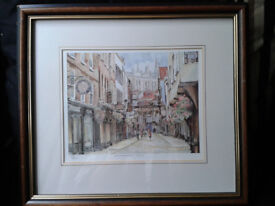 Pat Howden Limited Edition Print. York.