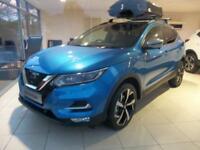 Nissan Qashqai 1.5 dCi Tekna+ 5dr (vivid blue) 2017