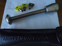 Auvray Antivol Reflex quality Motorcycle Bike Wheel Lock Bolt with carry case £25 ono