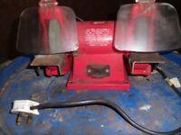 A 240 volt Kango bench grinder