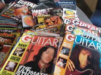Over 100 Guitar/Guitarist/Music magazines including 40+ cds