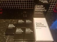 Uk Cards Against Humanity & 5 extension Packs