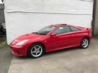 Toyota celica , low miles, fully serviced