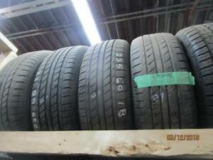 235/60R18 SET OF 3 USED GT RADIAL A/S TIRES