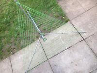 Washing line rotary airer
