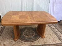 WoodenDining Table and 6 Chairs