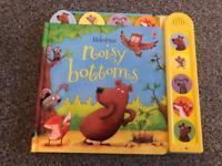 Usborne noisy bottoms book