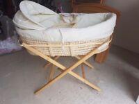 Used moses basket