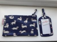BRANK NEW Cath Kidston pouch and luggage tag