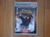 PS2 Game - Pirates of the Caribbean, still in wrapper