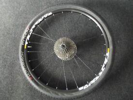 Mavic Crossride 27.5/650b Mountain Bike Disc Rear Wheel Shimano 10sp Cassette