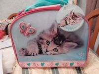 Rachel Hale Lovely Cat Lunch bag - cute or what. BNWT