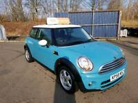 Mini CooperD, 2008, Diesel, 12 months MOT, 3 months RAC warranty, Service history, Spare key