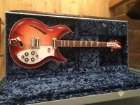Rickenbacker 381 V69 in FireGlo