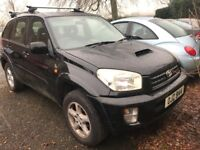 2003 Toyota Rav 4 2.0 D4D VX, 4x4 jeep ,ONLY £995 NO OFFERS, credit cards accepted.