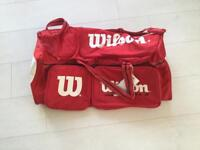 Great tennis sport WILSON holdall bag £5