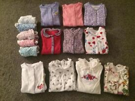 Sleepsuit and vest bundle (6-9 months)