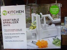 My Kitchen Vegetable Spiralizer - New in Box