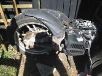 Honda sh125i engine abs model