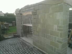 7n 100mm concrete blocks