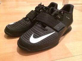 New Nike Romaleos 3 Weightlifting Shoes (8.5 UK, Black)