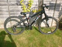 "KIDS HALFORDS HOOD V4 MOUNTAIN BIKE, 24"" WHEELS"