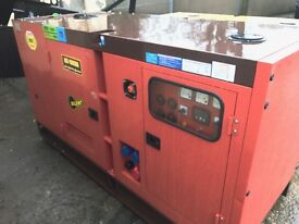 Generator 75 KVA Diesel AUTO Electric Start **UNUSED **