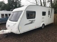 Swift charisma 560/ 4berth 2012 awning Cassette toilet and shower