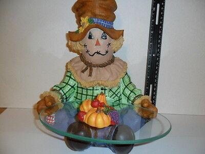 Terry's Village Harvest Scarecrow Thanksgiving /Halloween/fall fest decorations](Terrys Village Halloween)