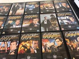 James Bond dvd set