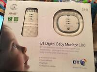BT digital baby monitor 100