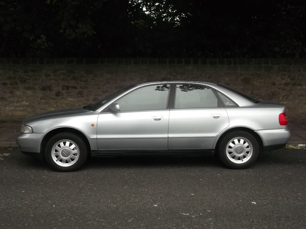 Audi A4, 1.9tdi diesel, 5 speed manual, leather, air-con