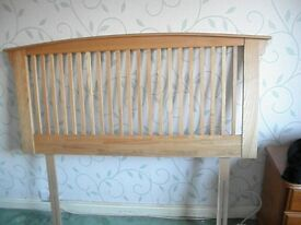 this double bed head board looks lovely in any bedroom like new pick up only .