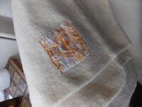 Witney Downs 100% wool double blanket