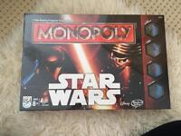 BRAND NEW IN SEALED BOX STAR WARS MONOPOLY