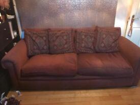 Very comfy 4 seater sofa